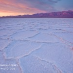 """Salt Flat Sunrise,"" Death Valley National Park, California"