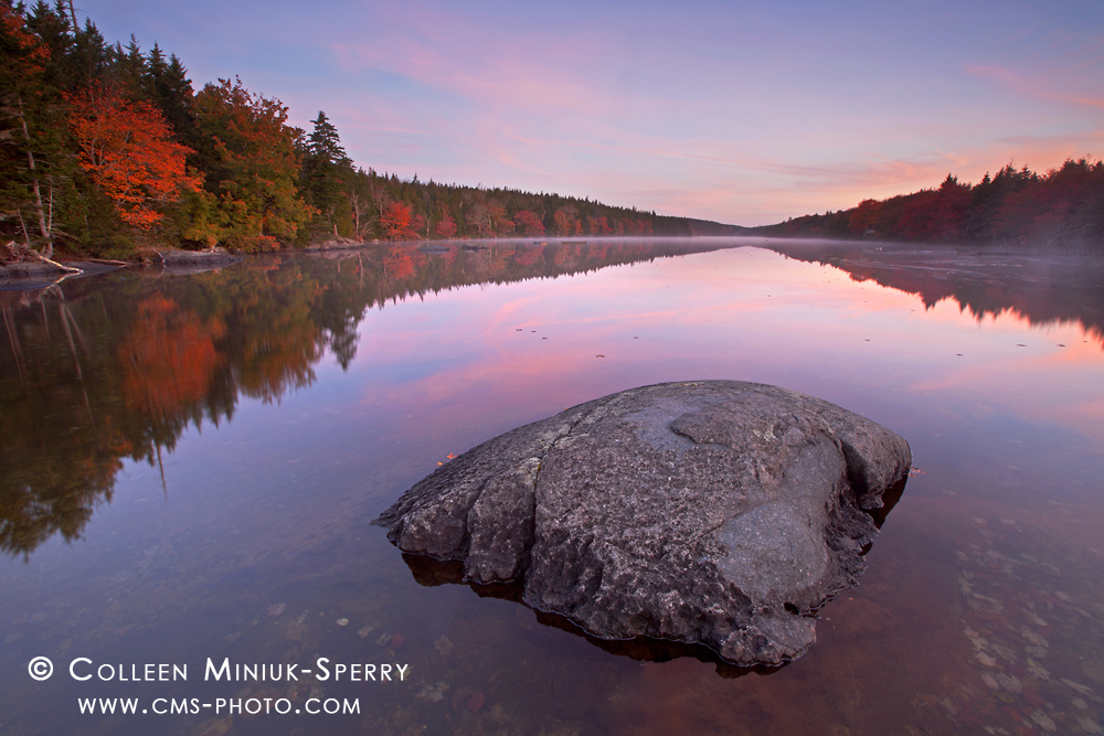 Tranquility at Long Pond, Isle au Haut, Acadia National Park, Maine