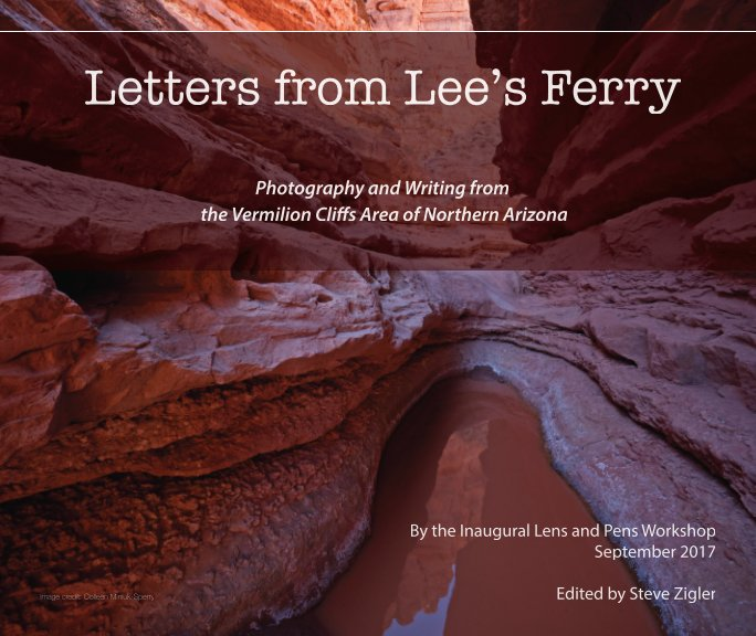 Letters from Lee's Ferry book